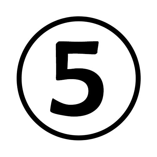 5-Number Circle