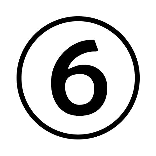 6-Number Circle