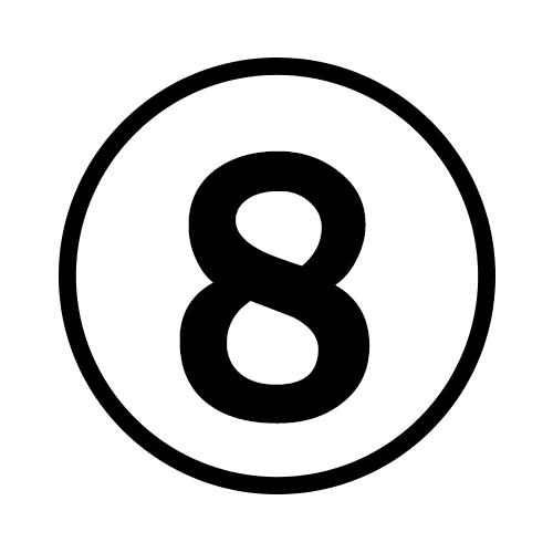 8-Number Circle