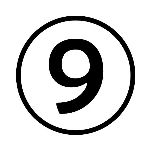 9-Number Circle