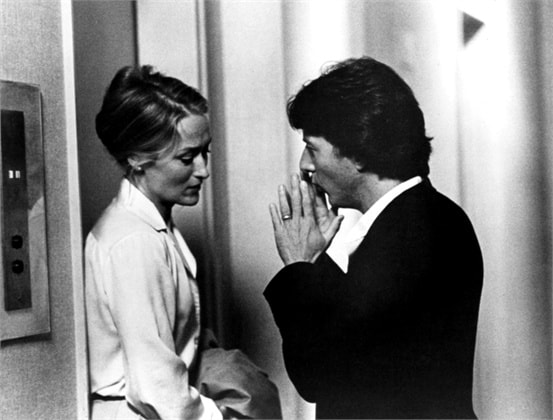 Dustin Hoffman and Meryl Streep