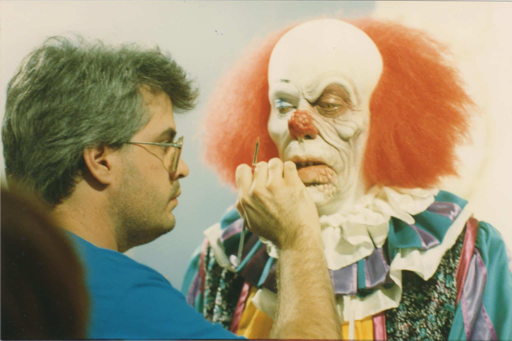Tim Curry Pennywise Makeup