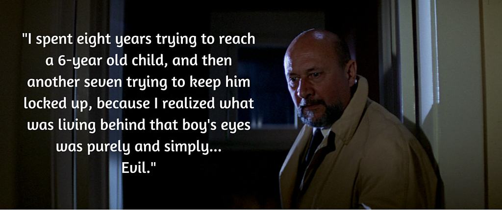 Dr Sam Loomis on Michael Myers