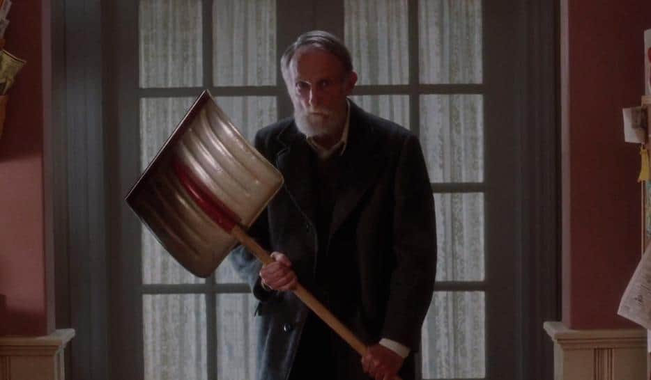 Old Man Marley Home Alone