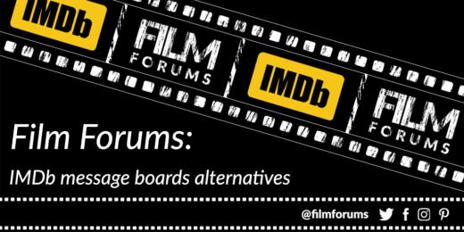 Film Forums IMDb Message Boards Alternatives
