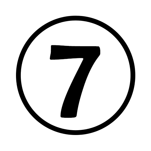 7-Number Circle