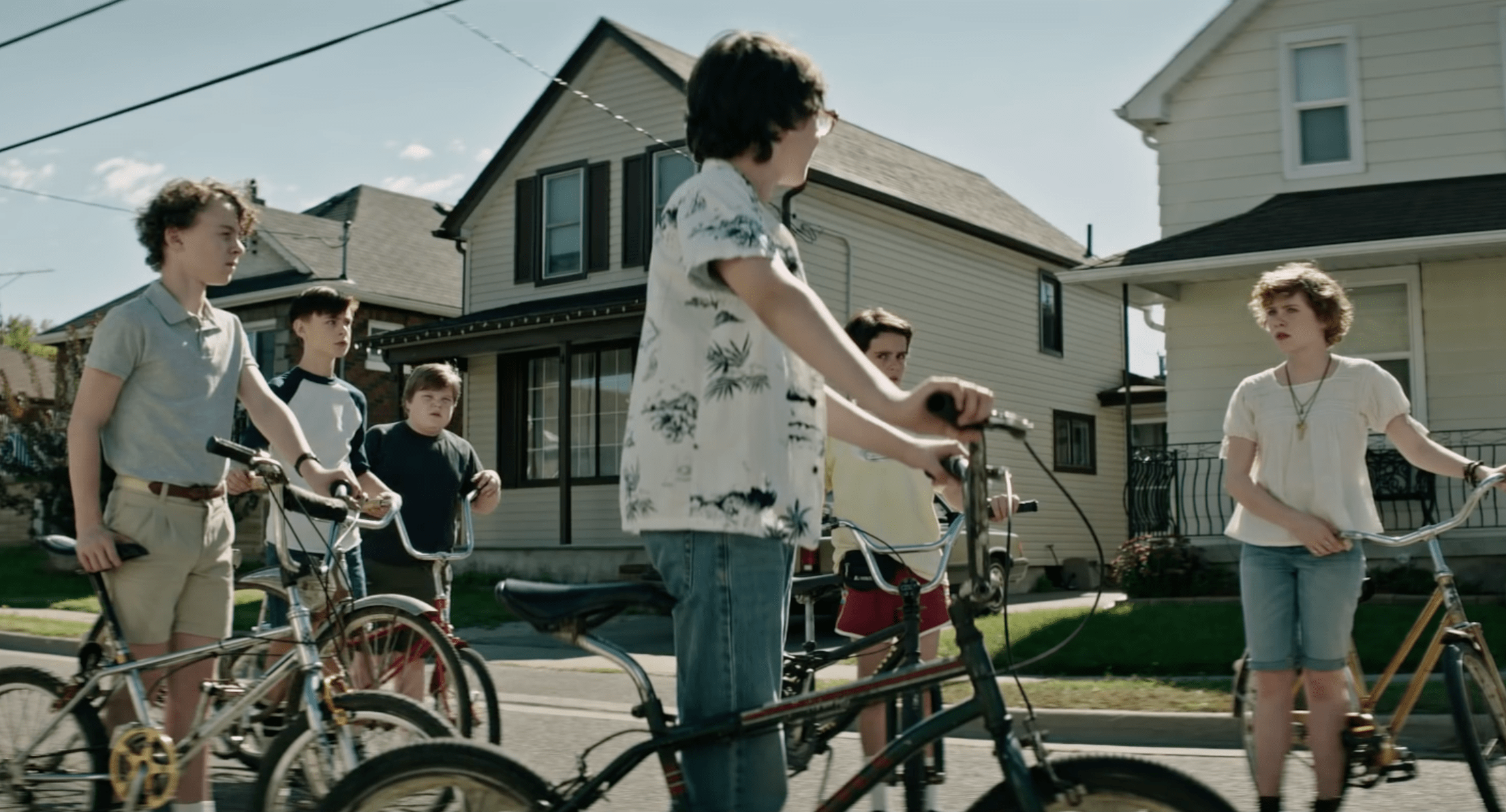 Losers Club on Bikes