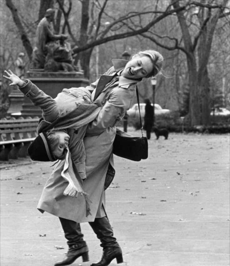 Meryl Streep and Justin Henry