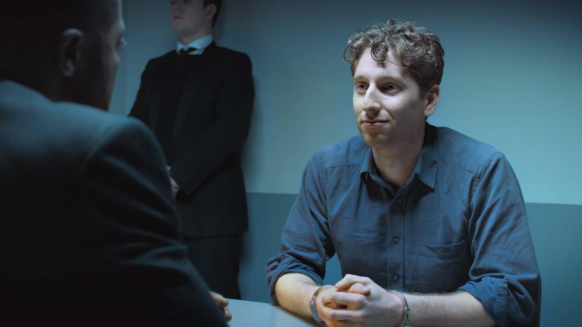 Alexander Tol is Bryan Tyler in Through A Dark Mirror (2019)