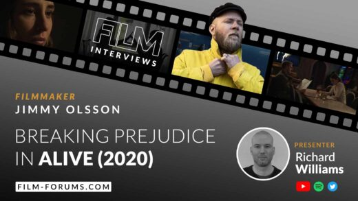 Jimmy Olsson Director and Writer of Alive