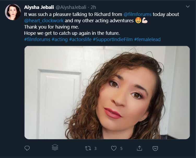 Aiysha Jebali on Twitter
