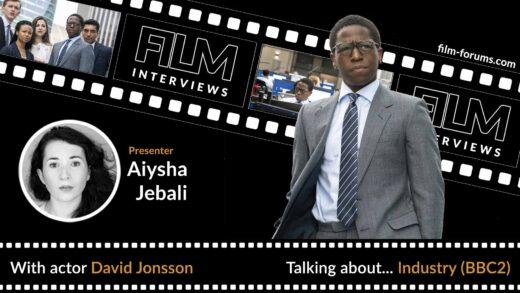 Actor David Jonsson - Film Forums Podcast