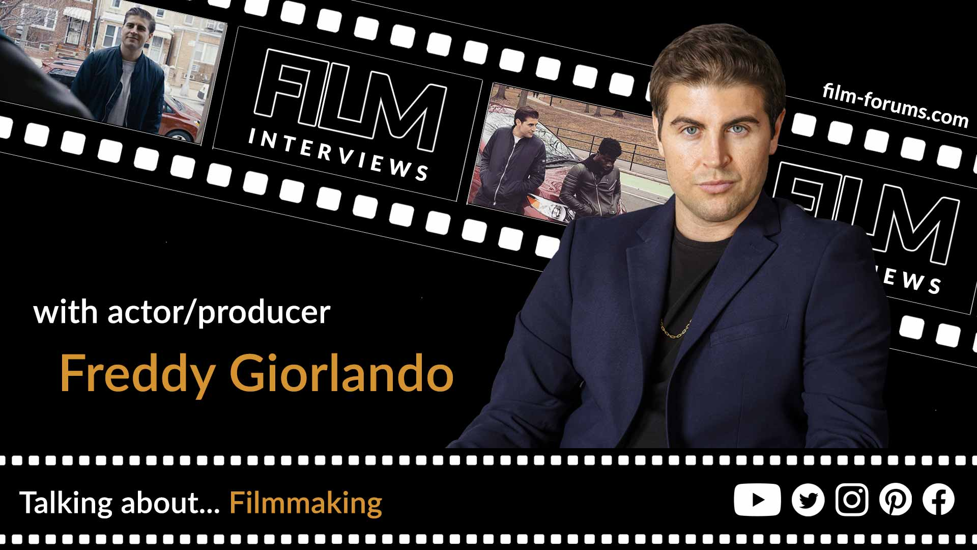 Freddy Giorlando, Actor and Producer