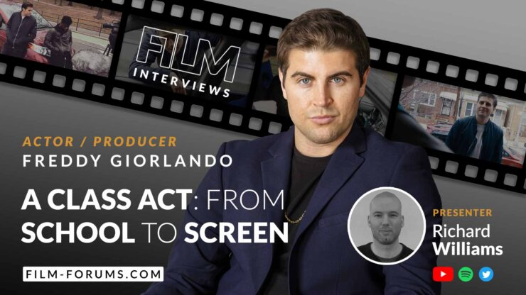Freddy Giorlando, actor, producer, filmmaker