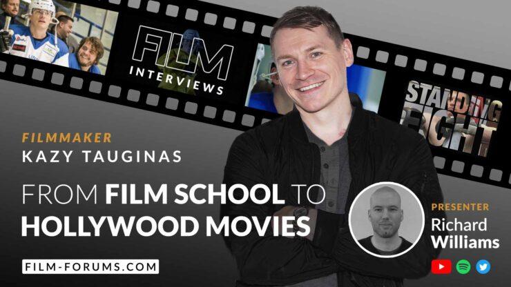 Kazy Tauginas Actor, Writer, Filmmaker