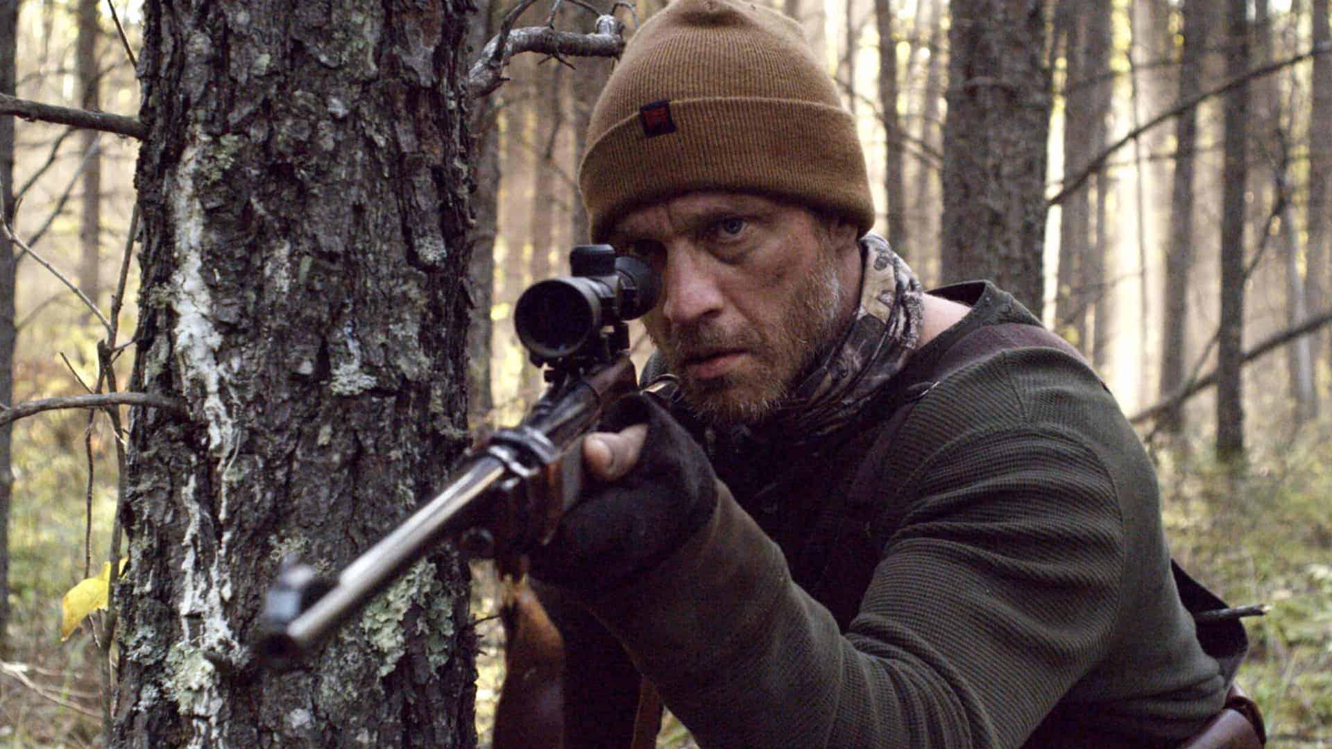 Devon Sawa as Mersault in Shawn Linden's Hunter Hunter (2020)
