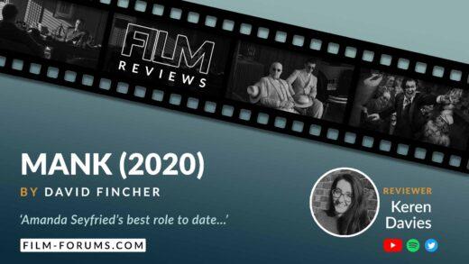 Mank (2020), David Fincher, Film Review