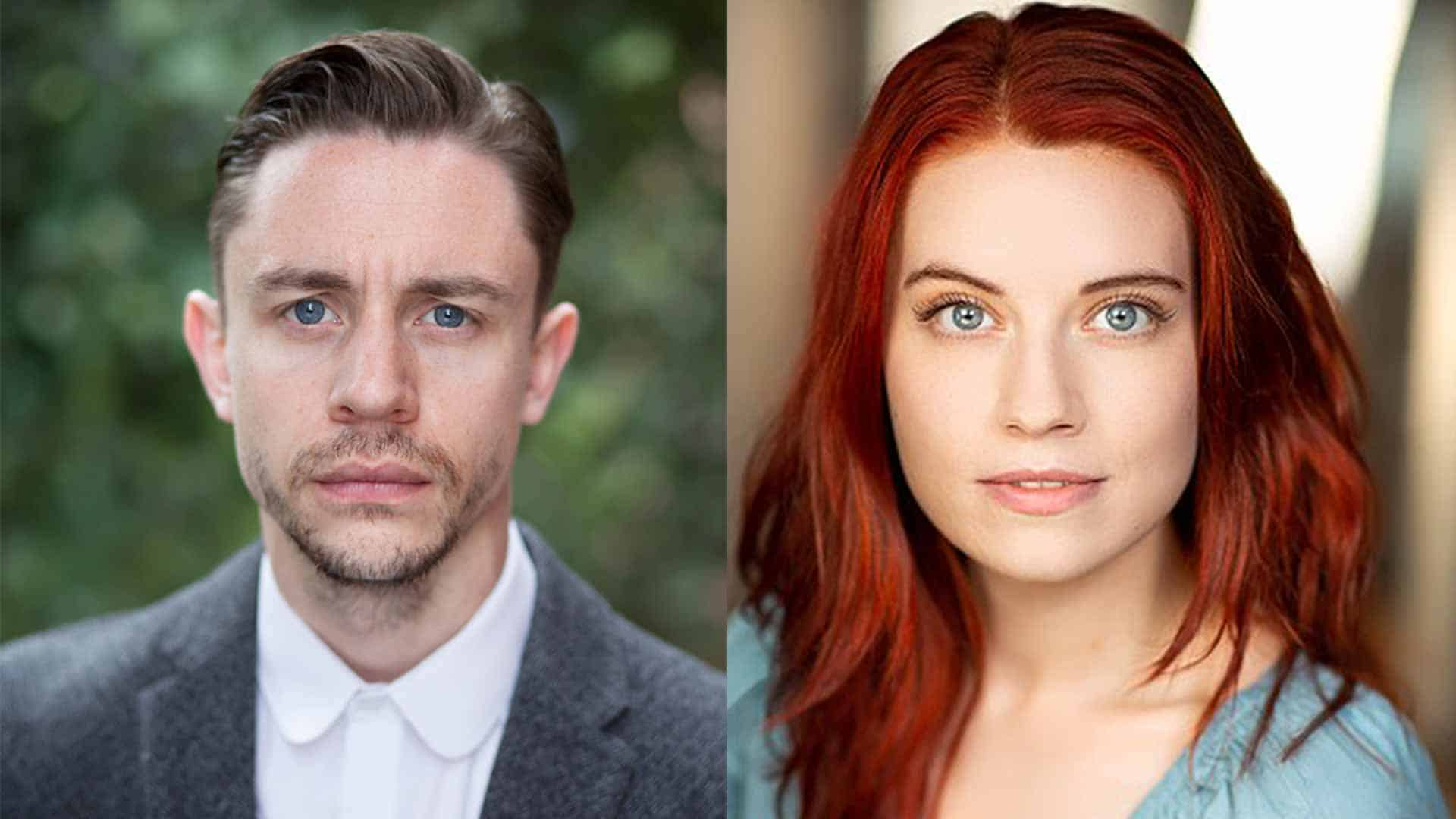Up and coming British actors Tom Lewin and Penelope Yeulet