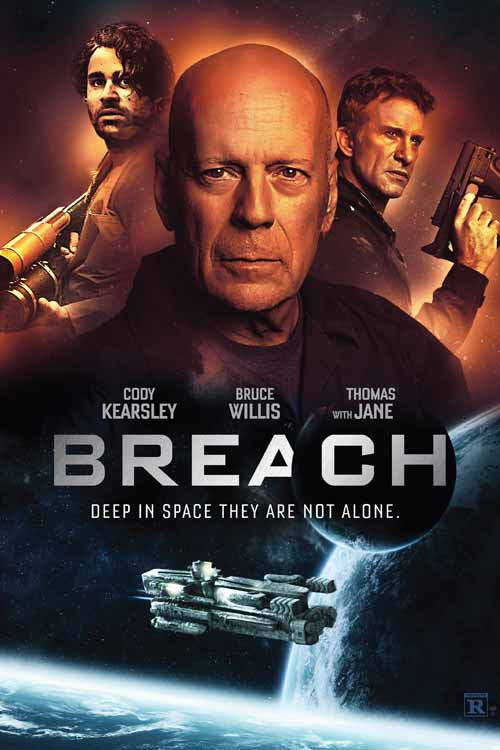 Bruce Willis, Breach (2020) movie poster