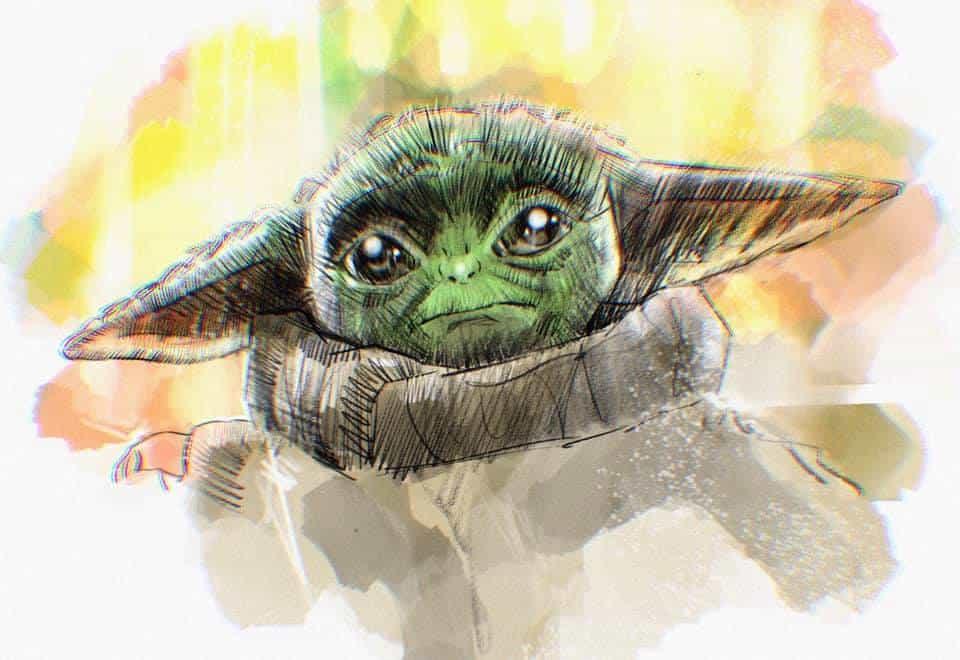 Glen Stone Baby Yoda