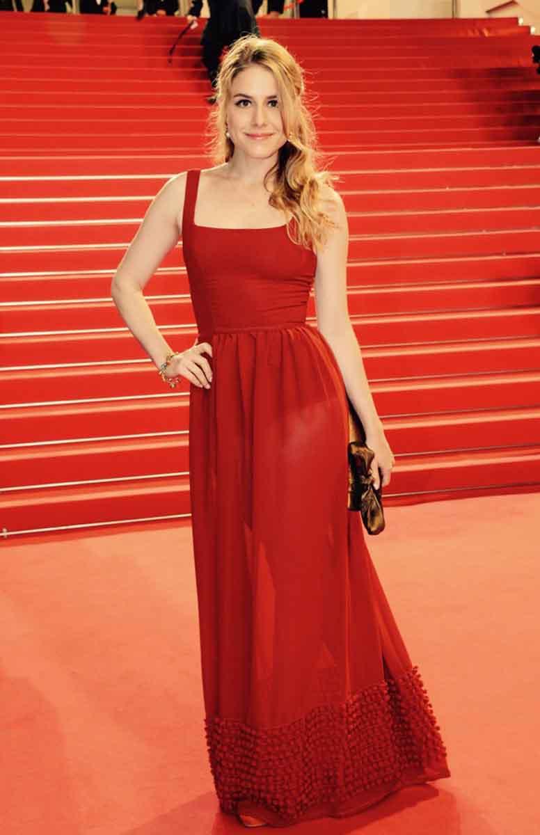 Cannes Film Festival Red Carpet Alix Wilton Regan