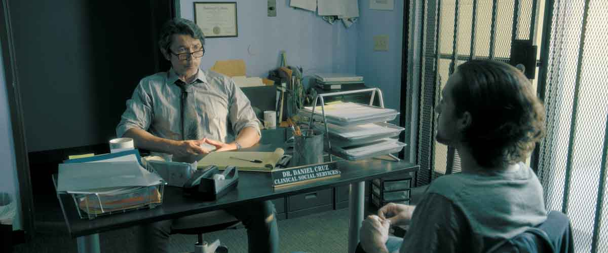 Actor Lou Diamond Phillips in Adverse (2020)