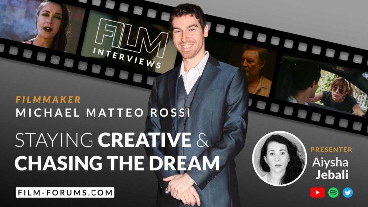 Michael Matteo Rossi Filmmaker, Chase & Shadows