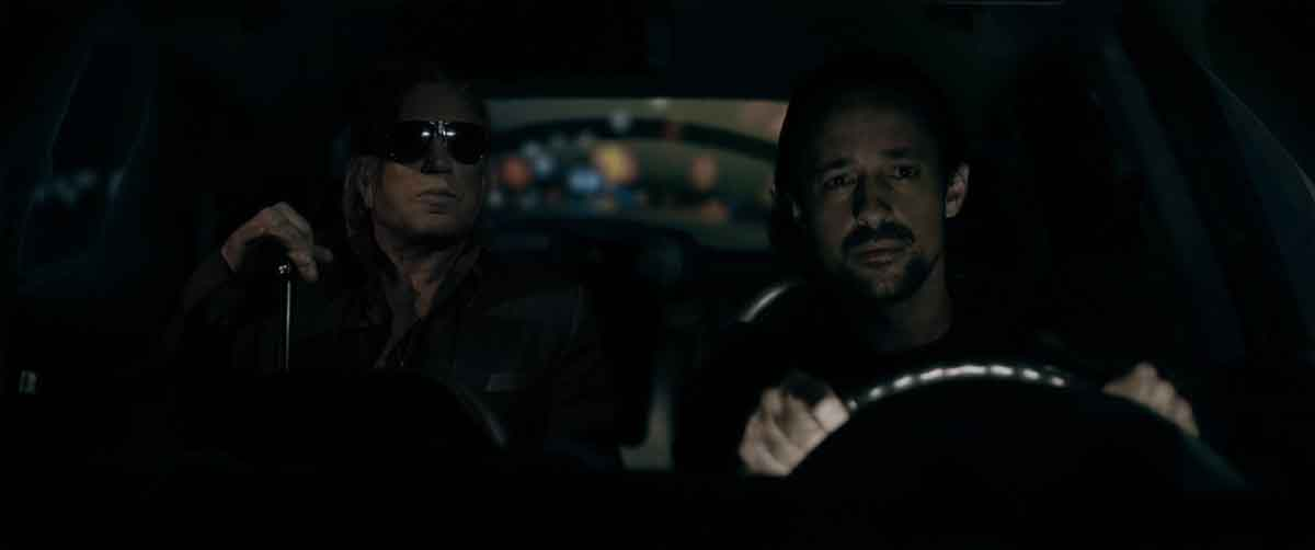 Mickey Rourke and Thomas Nicholas in Adverse (2020)