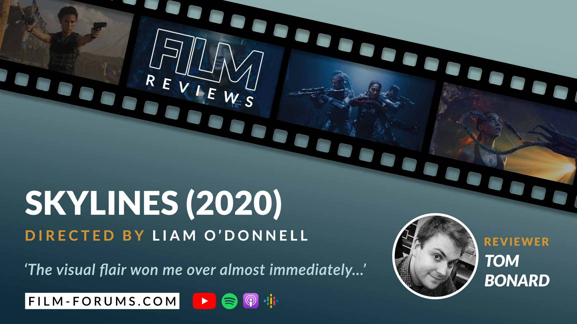 Liam O'Donnell's Skylines (2020) Film Review