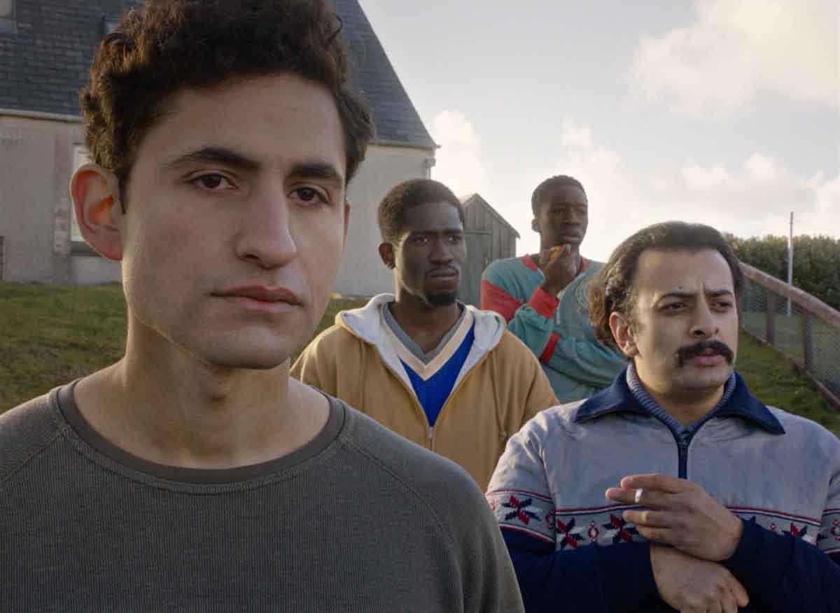 Actor Amir El Masry in Limbo (2020)