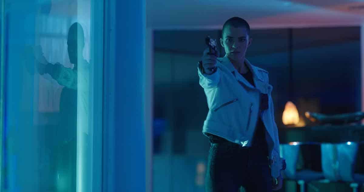 Actor Ruby Rose in Vanquish (2021)