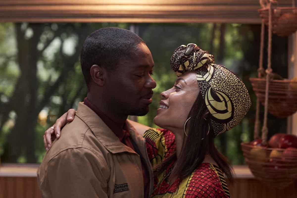 David Oyelowo and Rosario Dawson in The Water Man (2020)