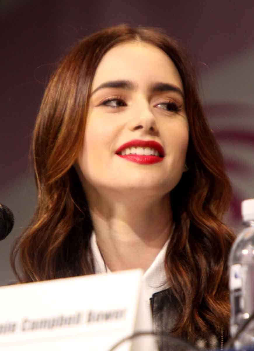 Lily Collins, actor
