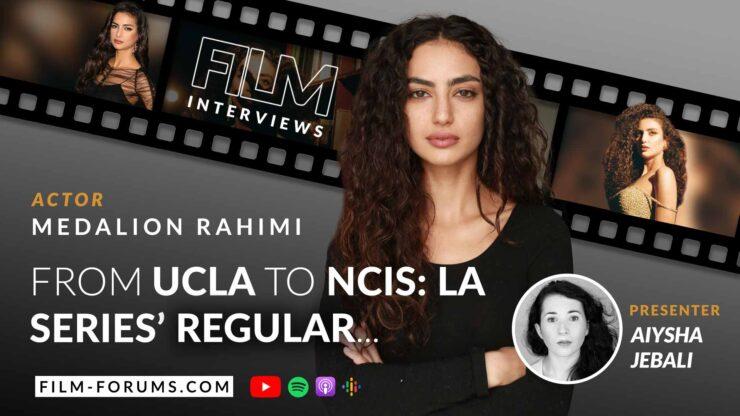Medalion Rahimi, actor NCIS: LA