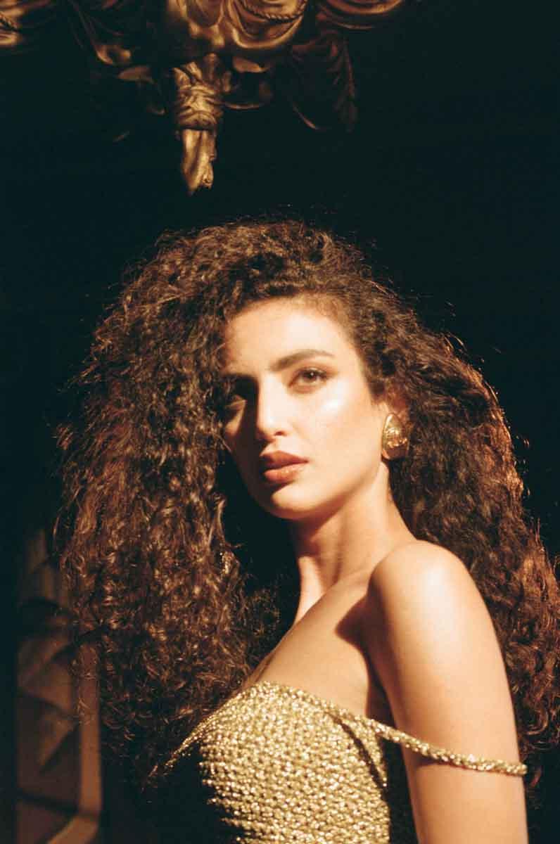 Actress Medalion Rahimi