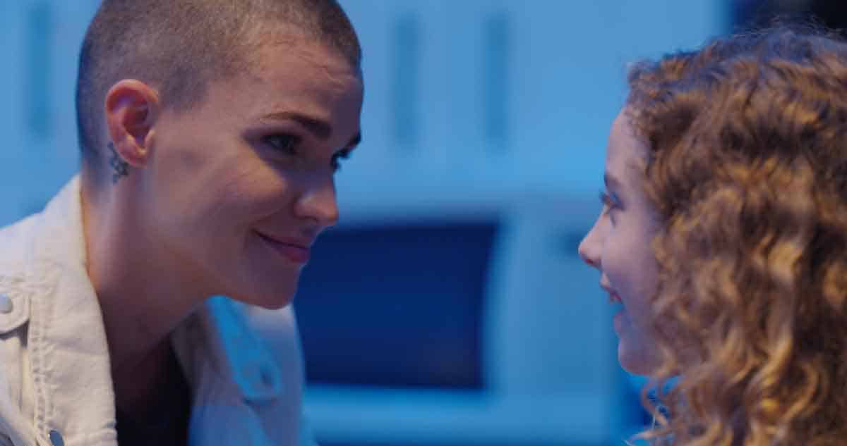 Ruby Rose and actor Juju Journey Brener