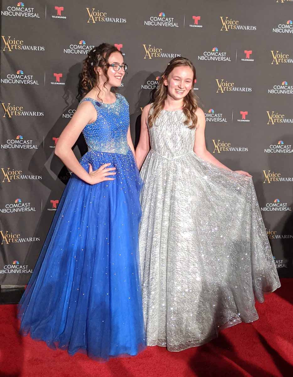 Cassie and Sabrina Glow at SOVAS Awards