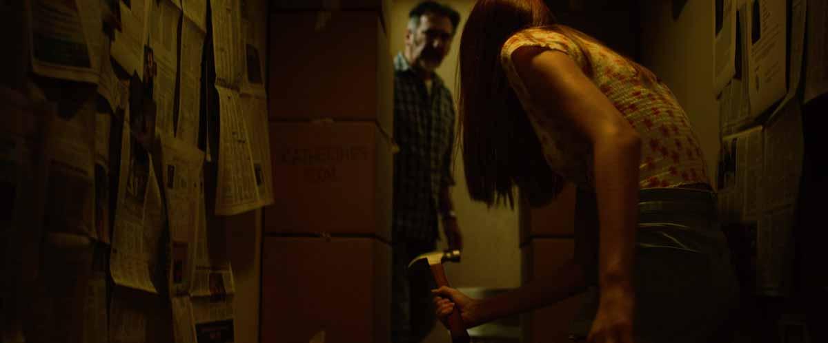William Kircher and Tori Kostic in Captive (2020)