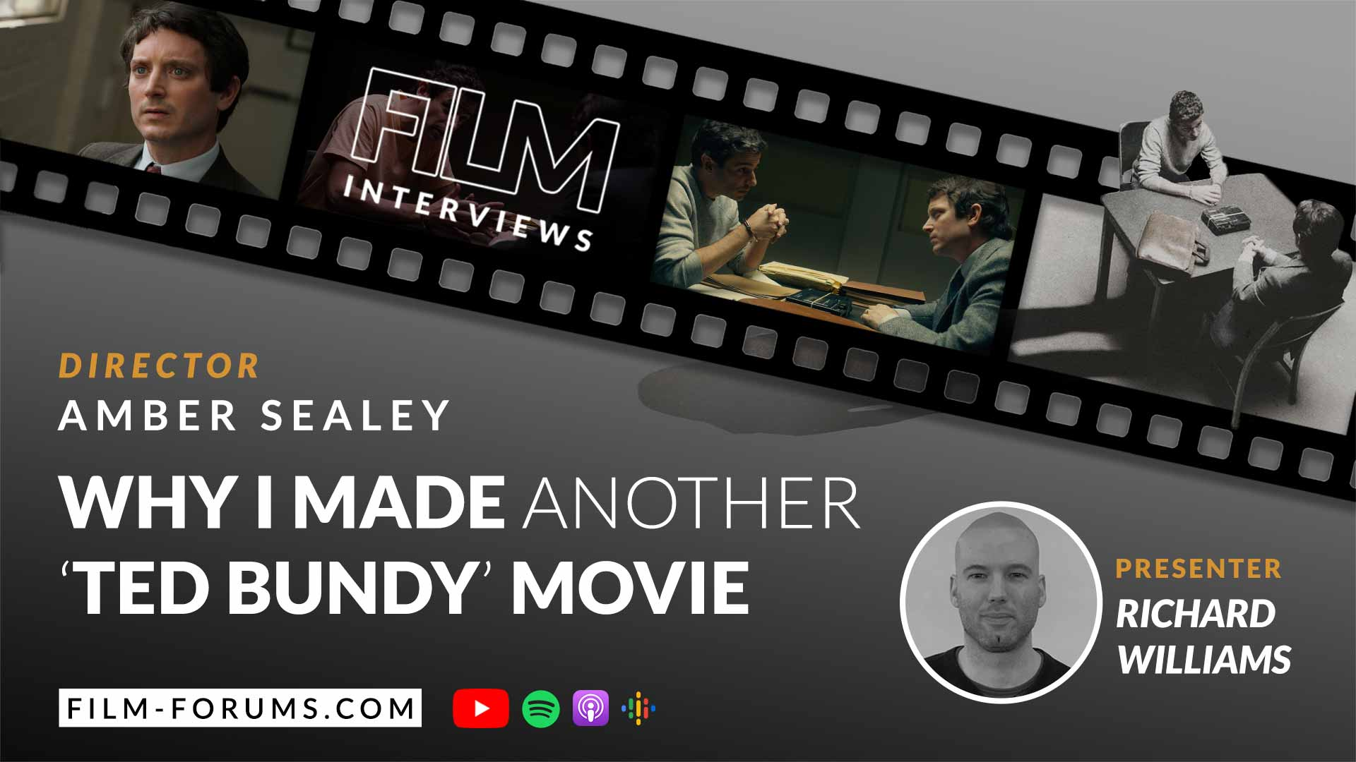 Amber Sealey No Man of God (2021) Interview