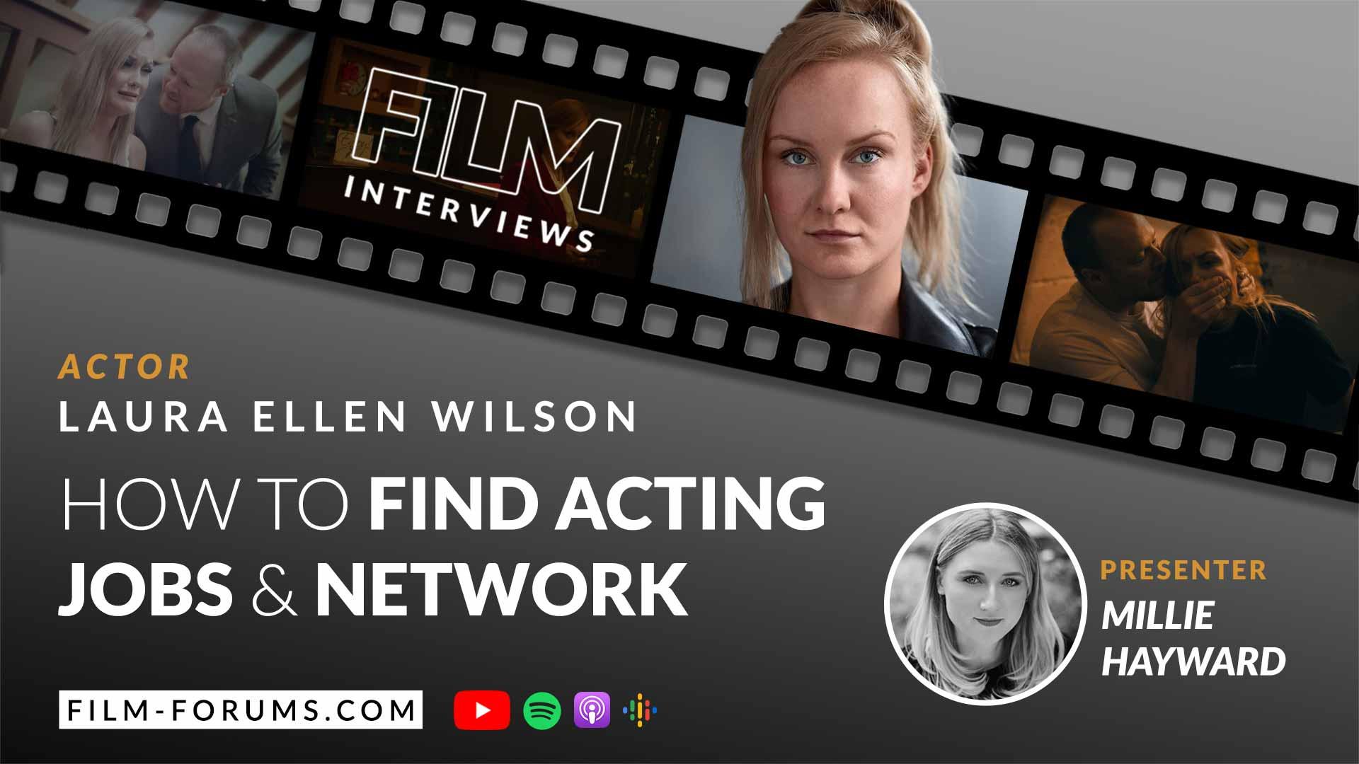 Laura Ellen Wilson, Actor