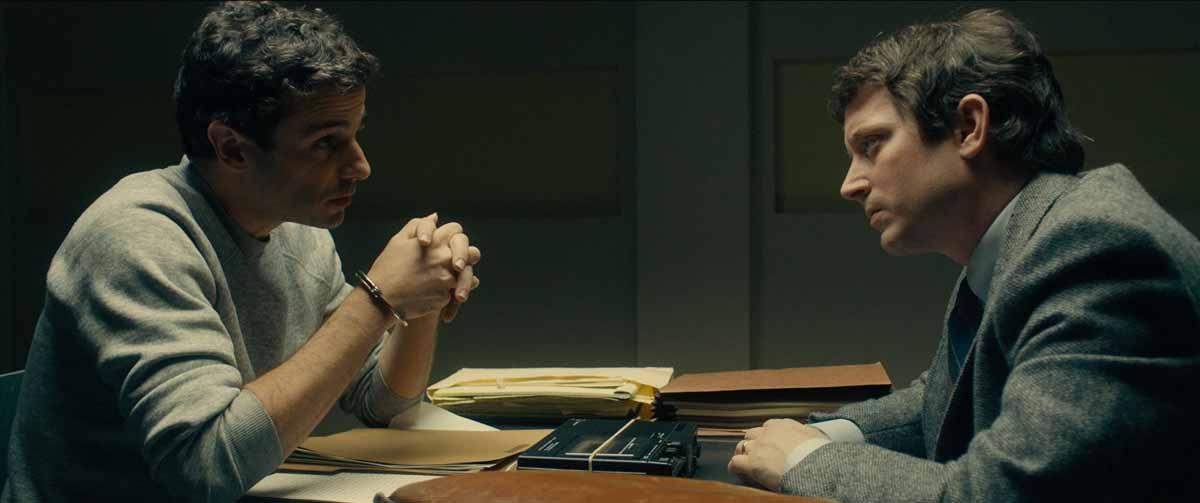 Luke Kirby and Elijah Wood in No Man of God (2021)