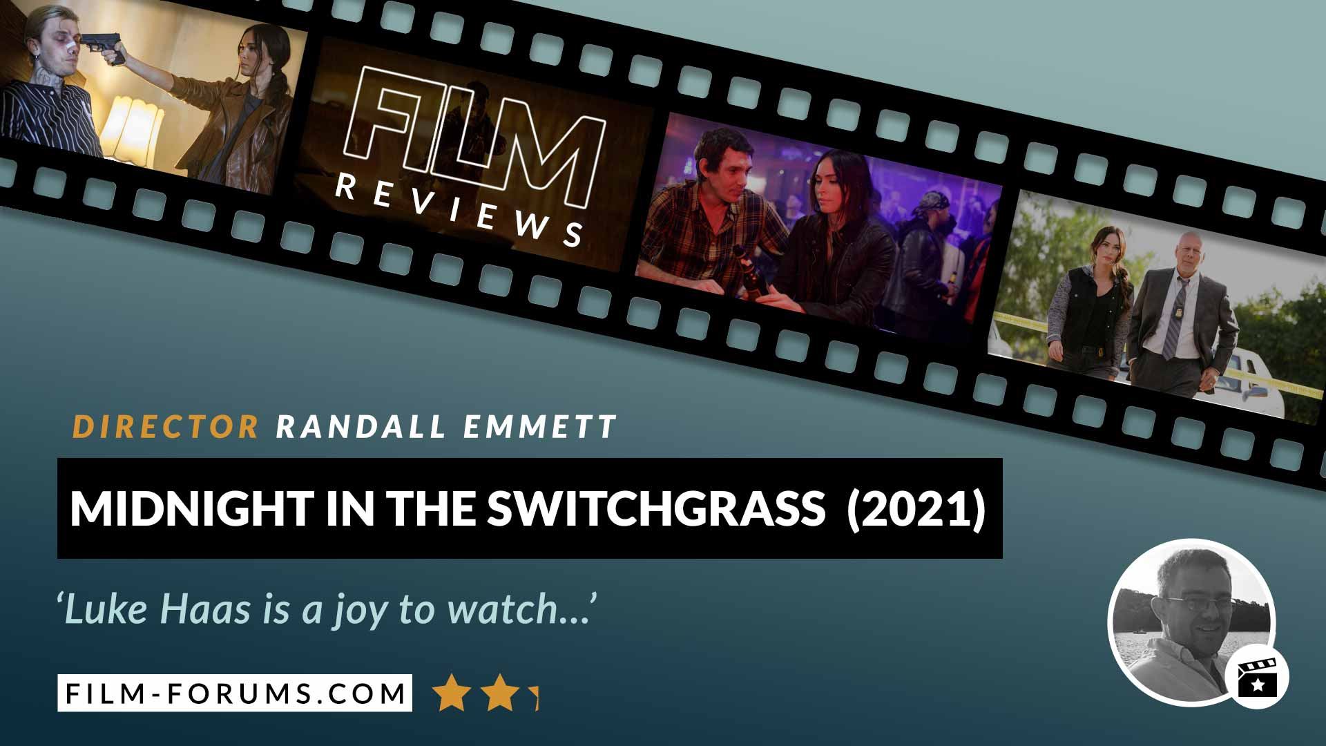 Midnight In The Switchgrass (2021) Film-Review