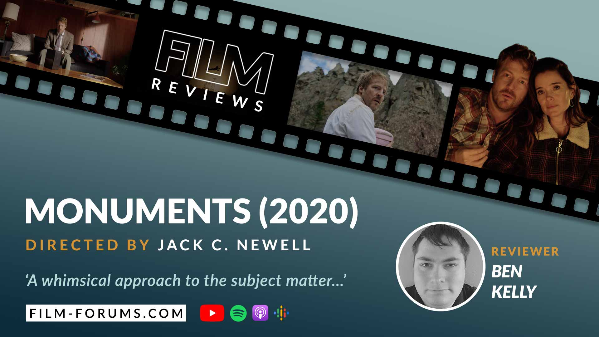 Monuments 2020 Film Review, Jack C. Newell