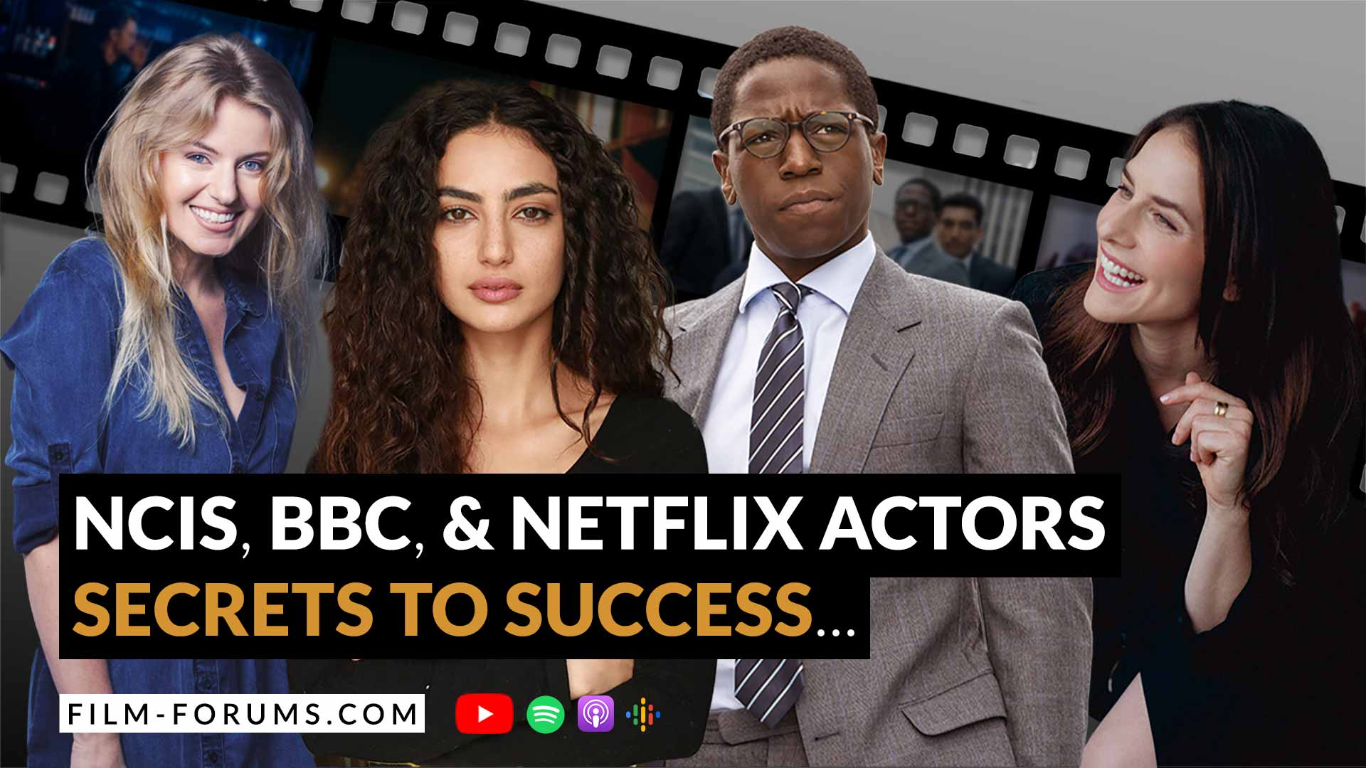 How to Succeed as an Actor, Interviews Film Forums