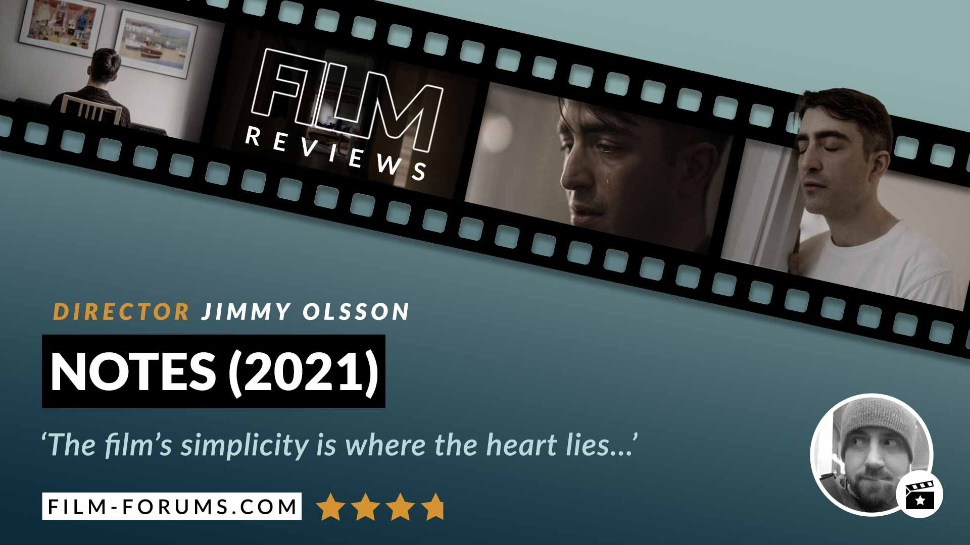 Notes 2021 Jimmy Olsson Short Film Review