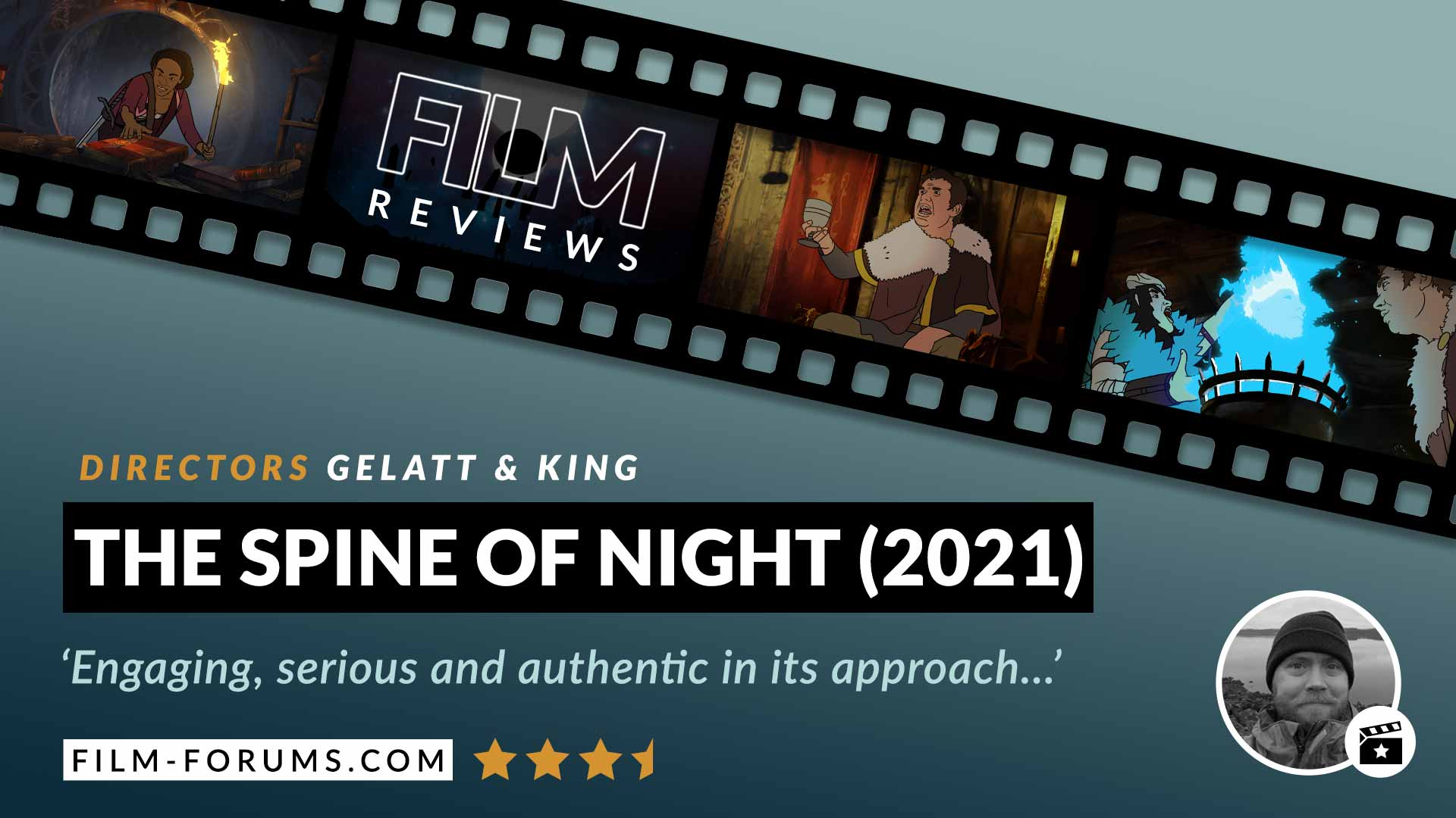 The Spine of Night 2021 Film Review